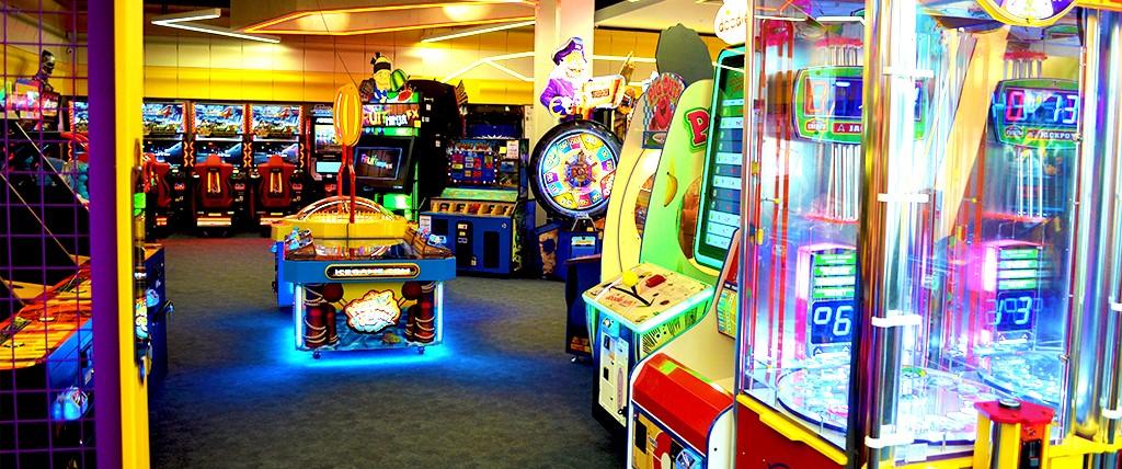 %Amusement Arcade Games Revenue/Profit Share